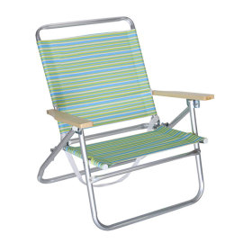 Portable Cheap Stripe Folding Camping Lounge Beach Chair-Cloudyoutdoor