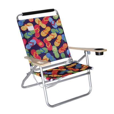 Multi-Purpose Lightweight Aluminum Folding Lounge Beach Chair-Cloudyoutdoor