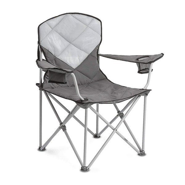 Portable Armrest Padded Folding Camping Chair-Cloudyoutdoor