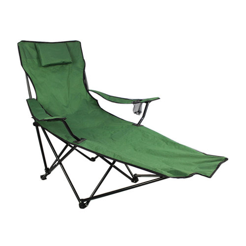 Camping/Beach Portable Stool Folding Chair with Footrest-Cloudyoutdoor