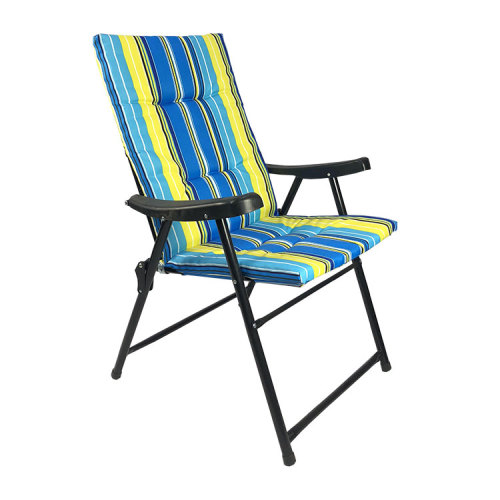 Outdoor Chair Manufacturer Portable Water-resistant Stripe Folding Beach Chair-Cloudyoutdoor
