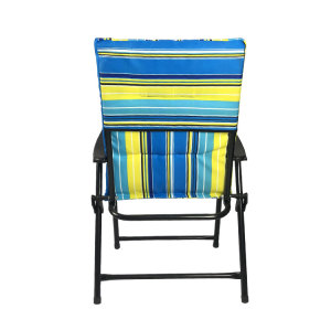 Outdoor Chair Manufacturer Portable Water-resistant Stripe Folding Beach Chair-Cloudyoutdoor