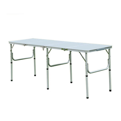 A folding Table with Printed Patterns Camping for Family-Cloudyoutdoor