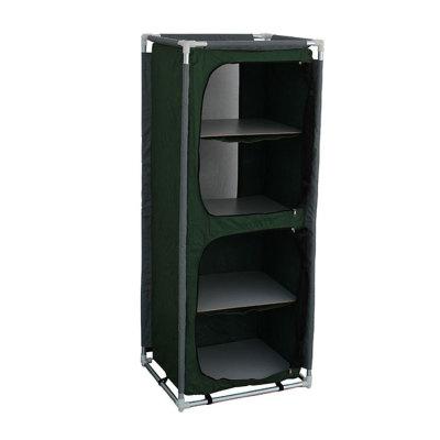 Outdoor Waterproof Folding Camping Metal Beer Storage Cabinet-Cloudyoutdoor