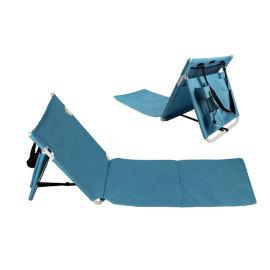Adjustable Reclining Floor Chair Indoors/Outdoors-Cloudyoutdoor
