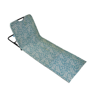 Portable Floor Folding Chair Mat With Adjustable Back-Cloudyoutdoor