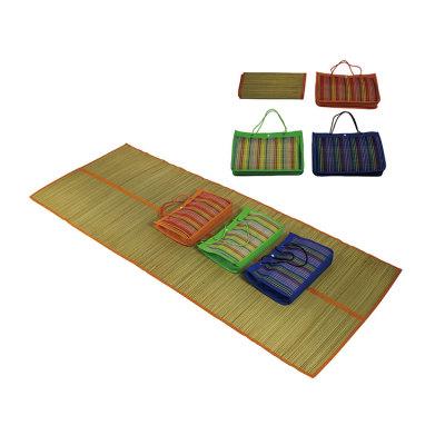 Straw Floor Chair Mat Comfortable Cushion for Beach -Cloudyoutdoor
