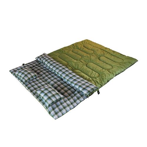 Outdoor 3 Seasons Waterproof Bag Double Sleeping Bag for Adult-Cloudyoutdoor