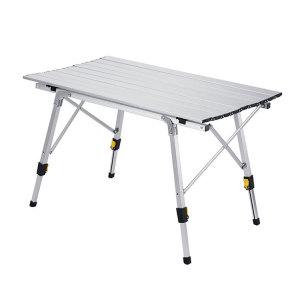 Aluminum Folding Picnic Table Telescopic Table Legs for Travel-Cloudyoutdoor