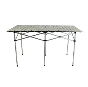 Extension Outdoor Use Folding Alu Picnic Table-Cloudyoutdoor