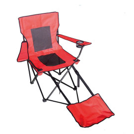 Green Heavy Duty Footrest Camping Chair Manufacturers-Cloudyoutdoor