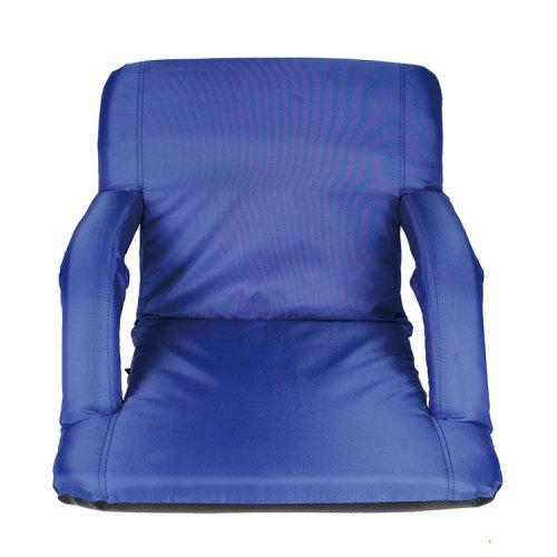 Outdoor Camping Furniture Supplies Blue Floor Chair for Stadium-Cloudyoutdoor