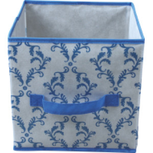 Non-woven folding storage box