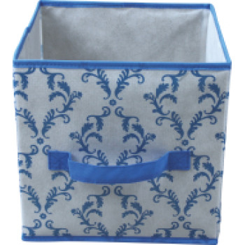 Non-woven folding storage box