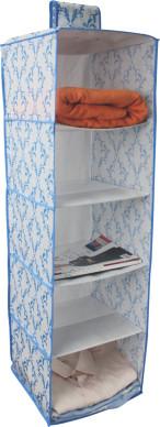 Organizzatore di scarpe da appendere non tessuto con 5 scomparti
