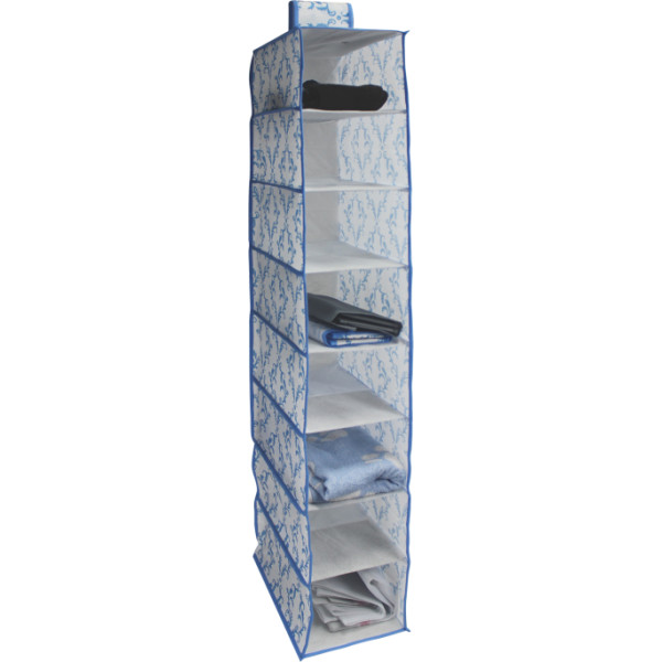 Large capacity Nonwoven Hanging Shoes Organizer with 8 Compartments