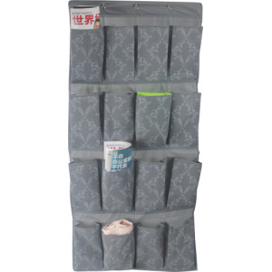 Wall hanging PEVA  organinzer with 16 pockets