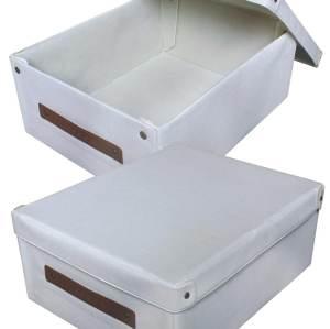 Scatola portaoggetti stampata a caldo Scatola portaoggetti non tessuto