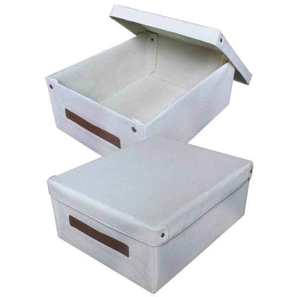 Wholesale Hot-pressed storage box Non-woven storage box