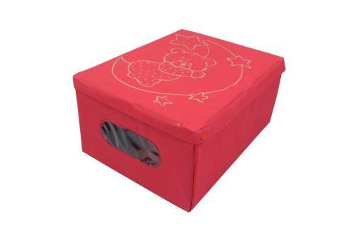 Scatola di immagazzinaggio non tessuta con scatola stampata a caldo di design personalizzato