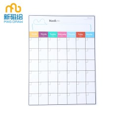 Magnetic Weekly Meal Planner Dry Erase Board