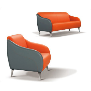 Modern  design cosy  multicolor  Office Sofa Furniture Reception sofa leather furniture