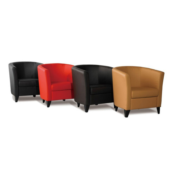Colorful Leather Sofa Waiting Sofa For Office leather furniture(SF-890)