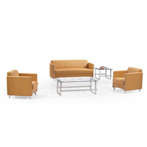 Elegant Office Sofa-Waiting Room Sofa leather furniture