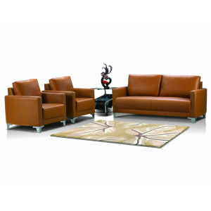 Wholesale  Prime Office Leather Sofa  Waiting Room Sofa leather furniture