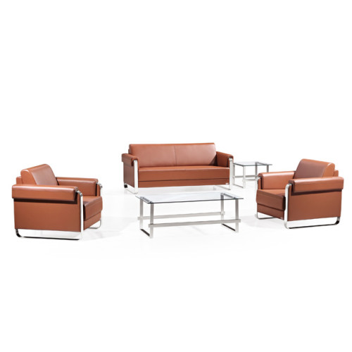 Wholesale Office Sofa Set Contemporary Leather Furniture(SF-661)