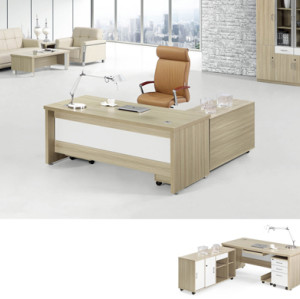 Light tone Contemporary Office Table for Executive