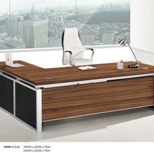 High Quality L-shaped Wooden Office Executive Desk(YF-D1009H)