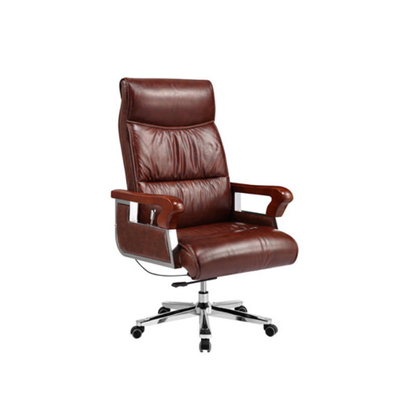 Wholesale High Back Rotating Executive Leather Chair(YF-9601)