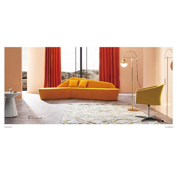 Modern style fabric office large  Sofa  Public furniture