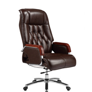 Wholesale High-back Leather Office Executive Swivel Chair(YF-9563)