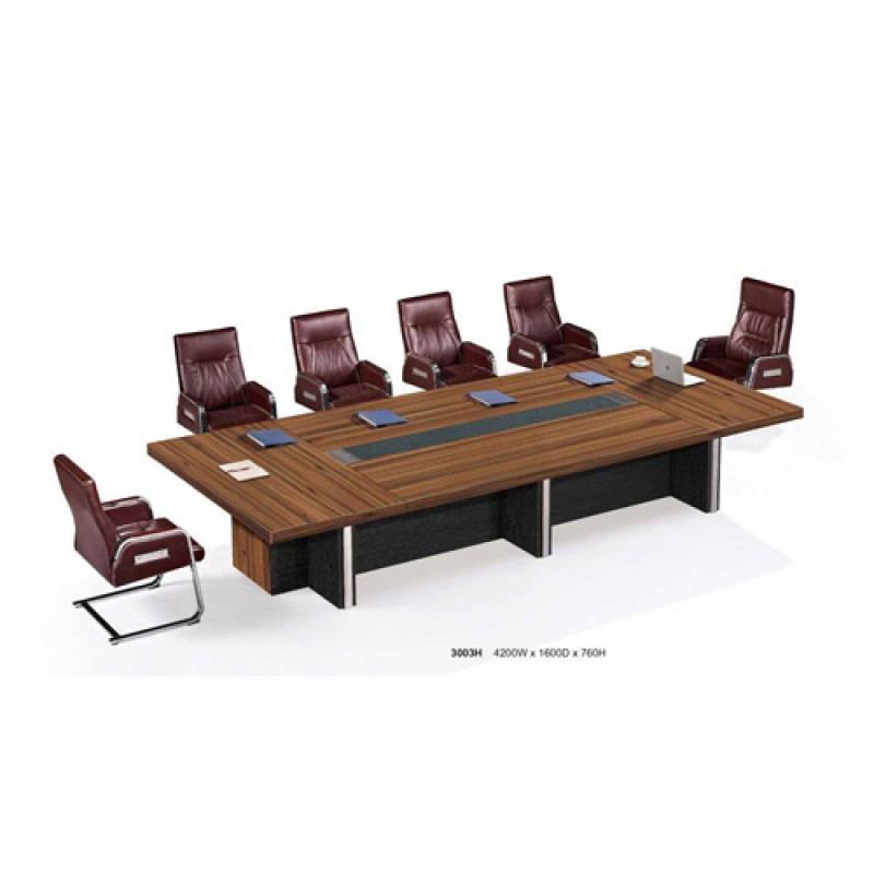 Wholesale Big Wooden Conference Des And Chairs U-shaped Wooden Conference Table Set(YF-D3003H)
