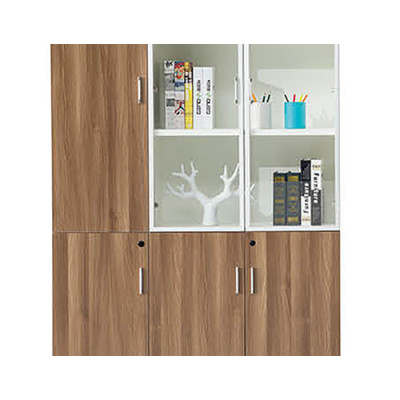 Modern Design Wooden Office With File Storage Cabinet(YF-26F306L)