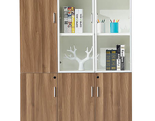 High Quality Simple 3 Door Wooden File Cabinet Storage Furniture-26F306L