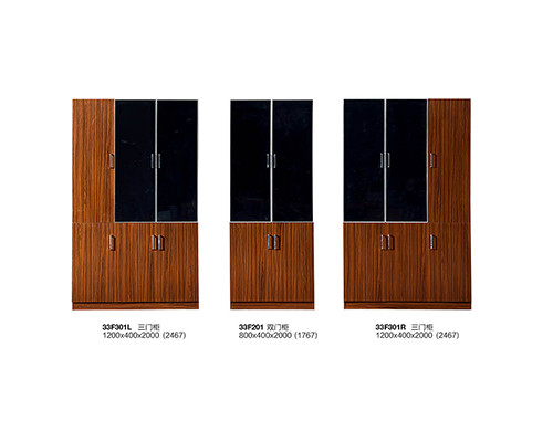 Modern Office 3 Doors File Cabinet-26F306L