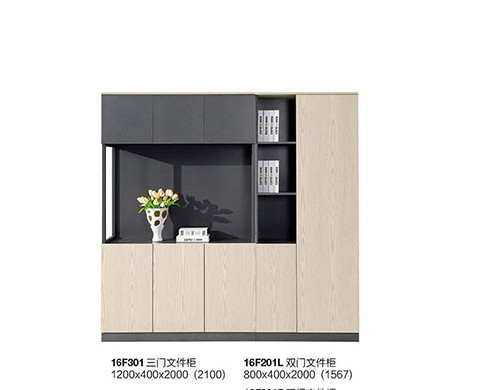 Office file cabinets with 3 door,door with buffer hinges,no lock.(YF-16F301)