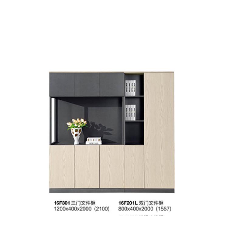 3 Door Office file cabinets, door with buffer hinges,no lock(YF-16F301)