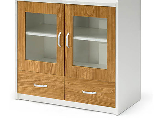 Office file cabinet with double door,2 drawers,with handle(YF-18E0802)
