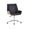 Mid Back Adjustable Rotatable Leather&PU Office Executive Chair (YF-D-001-1)