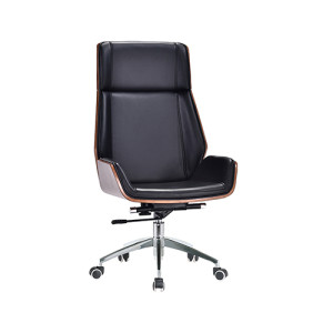 Adjustable Rotatable Leather Office   Chair leather furniture(D-001)