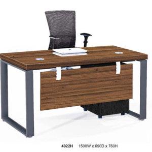 Modular Office Desk with mobile desk file cabinet