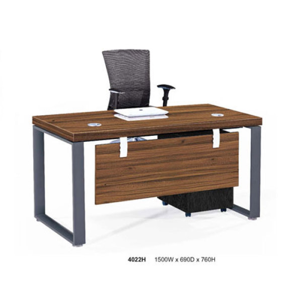 Modular Office Desk with mobile desk file cabinet