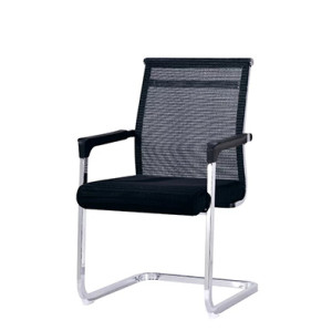 Wholesale Middle Back Mesh Office Visitor Chair(YF-A083 Black)