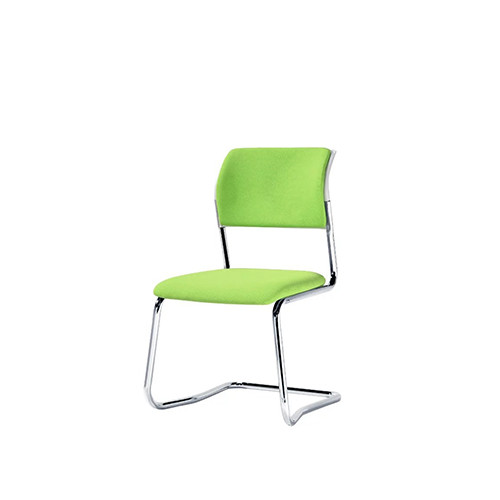 Wholesale Middle Back PU Office Visit Chair(YF-A097-Green)