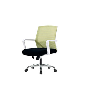 Wholesale task chair with plastic amrest, chrome base(YF-094)