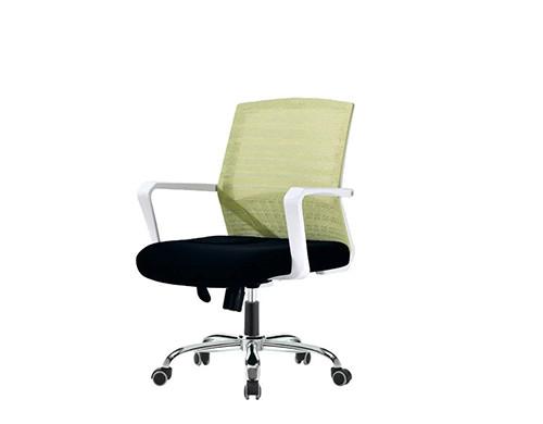 Wholesale task chair with plastic amrest, chrome base(YF-094)